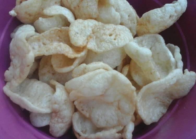 Resep Kerupuk Nasi rasa udang - Taza Kitchen