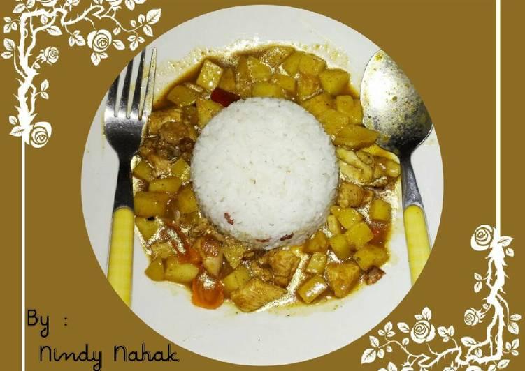 Resep Nasi Kari Khas Jepang - Nindy Nahak