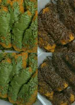 Nugget Pisang Green Tea Cokelat #enakanbikinsendiri