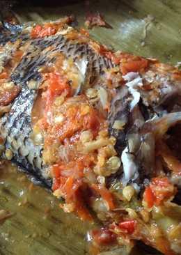 Pepes Ikan Nila Pedas Poll