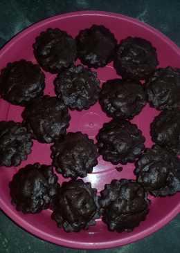 Brownies coklat kukus 3 sdm