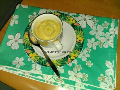 Oat Milk Banana #Indonesia Memasak