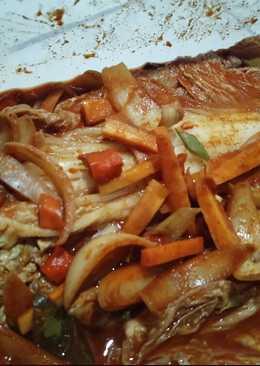 Kimchi sawi putih plus plus