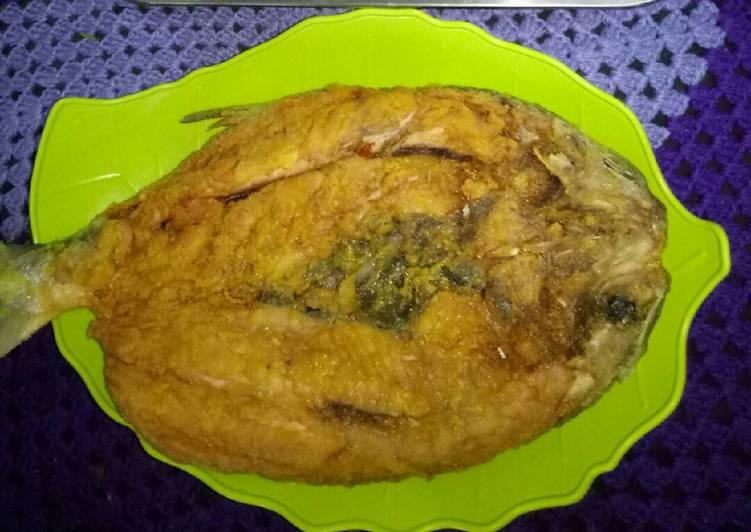 Bandeng goreng tepung tmpa duri kriuk