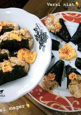 Onigiri Sosis & Ayam Suwir (Pedas🔥)