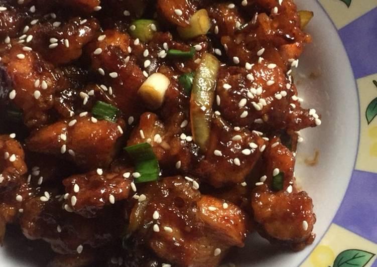 Resep Masak Ayam Teriyaki Hokben
