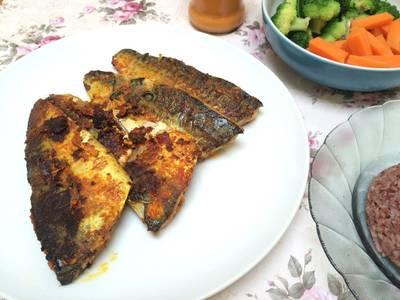 Easy grilled mackarel