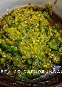 Sambel Ijo (masakan rumah sederhana) #bikinramadanberkesan