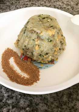 Nasi goreng hijau telur 10m
