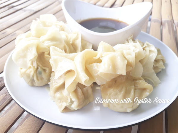 Dimsum with Oyster Sauce (Siomay Ayam)