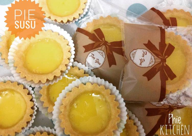 Resep Pie susu / kue Lontar- recomended ???? - Phie Kitchen