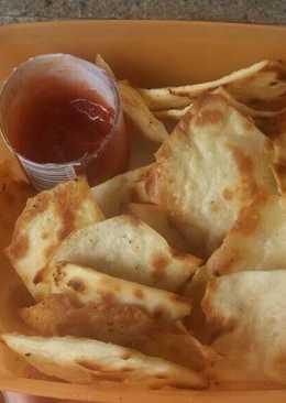 Garlic crack (kulit kebab crispy)