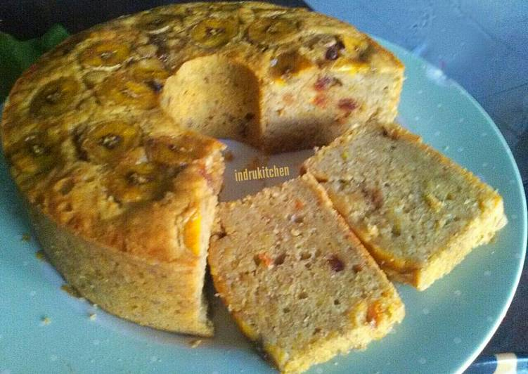 Cake pisang kurma