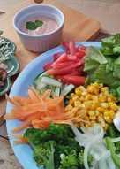 Thousand Island Salad (Salad Sayur)