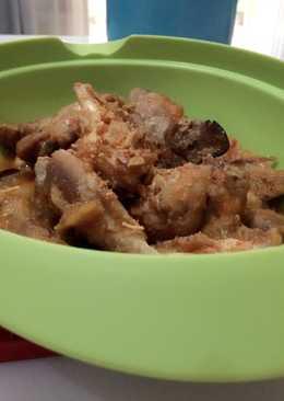 Ayam bumbu pedas manis (bumbu rujak)