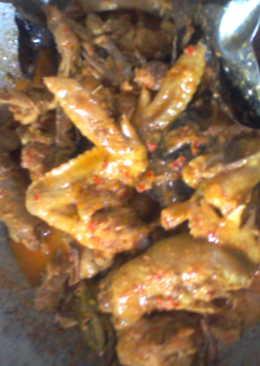Rendang ayam layer