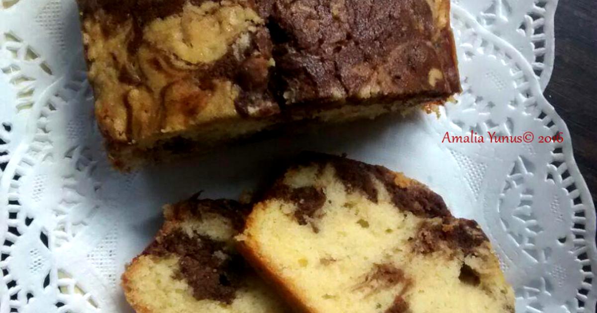 Resep Marmer Pound Cake NCC