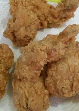 Simple ayam goreng