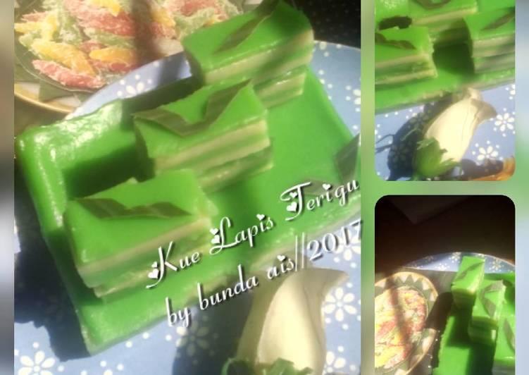 cara membuat Kue Lapis Terigu