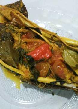 Pepes Ikan Nila (alumunium foil)