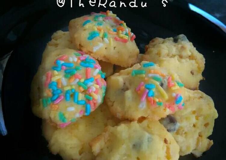 Resep Blondie Choco Chips Cookies Kiriman dari Wira Kekei Randu