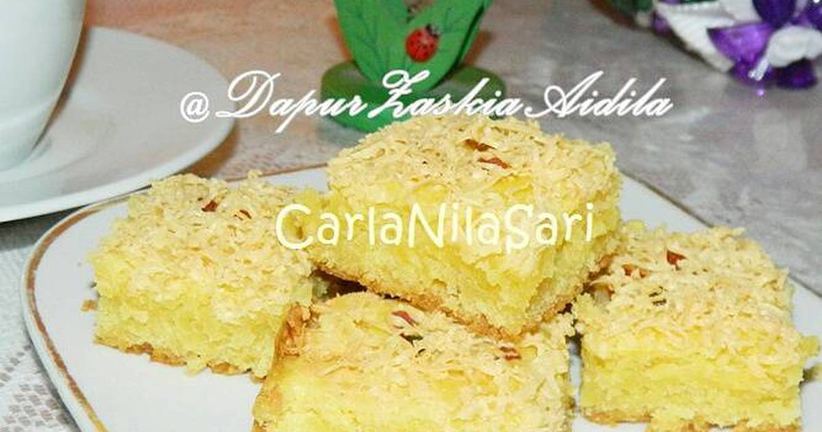 Resep Butter cake chesee