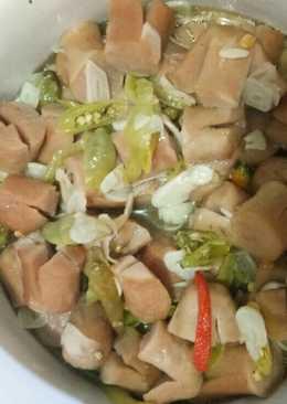 Tumis Sosis Ayam