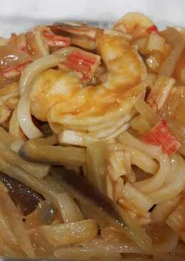 Spicy udon