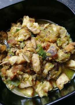 Ikan tongkol sambal ijo