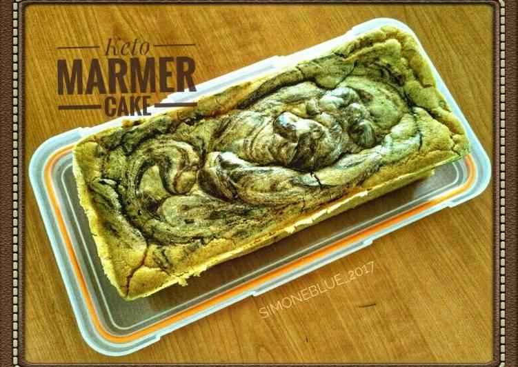 Resep Cake Keju Keto: Resep Keto Marmer Cake #ketopad Oleh Liza Martini