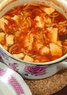 Soondubu Jjigae (korean tofu and egg spicy soup)