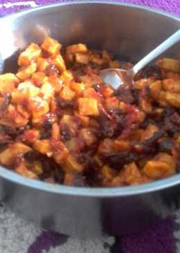 Sambal kentang daging