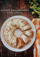 Cheesy Banana Cake #kamismanis