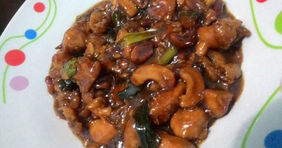 resep kungpao chicken rumahan ala resto oleh vina septiana
