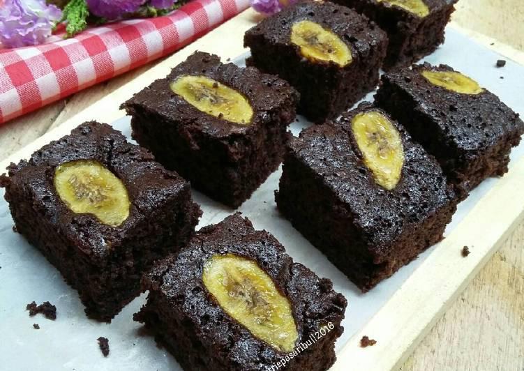 brownies pisang