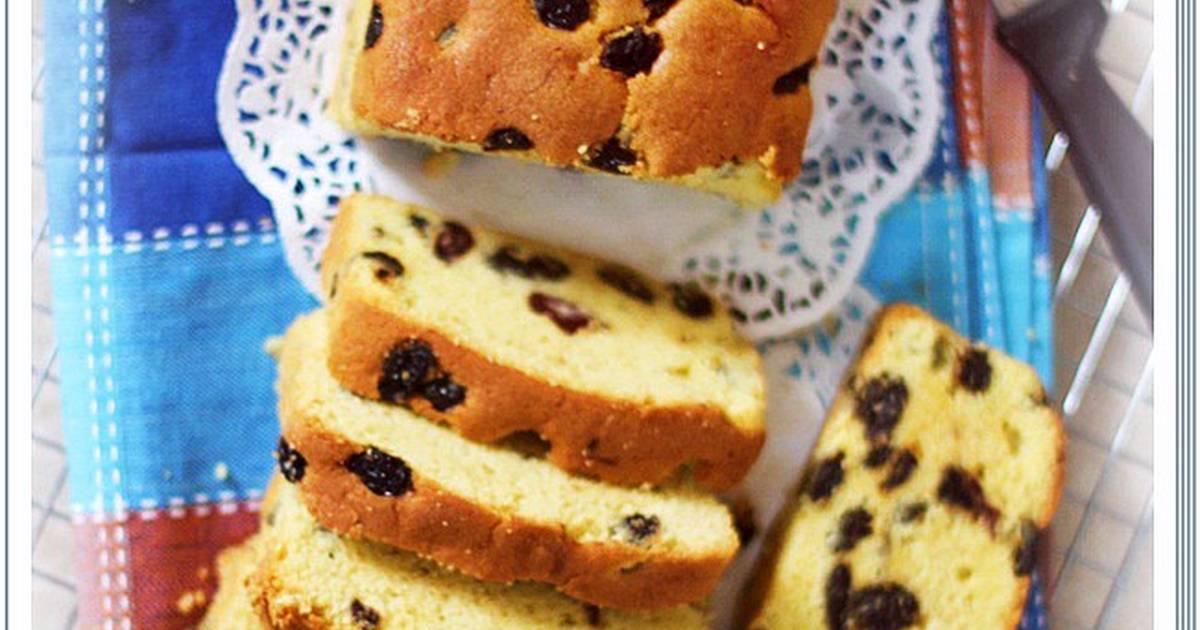 Resep Pound Cake Kismis Cake Kuno Harum enak bangett