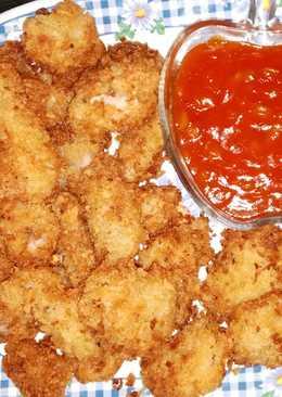 Tuna Fillet Crispy Saus Asam Manis- Camilan dan Lauk Sehat