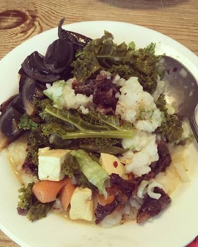 NASYA-STYLE VEGETABLE CURRY RICE PORRIDGE (Bubur Sayuran)