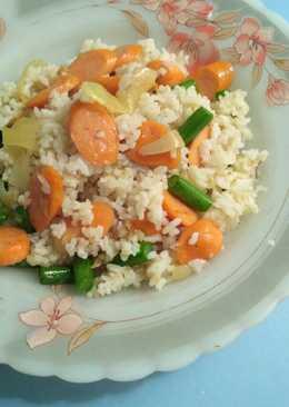 Simple Fried Rice - Nasi goreng sederhana