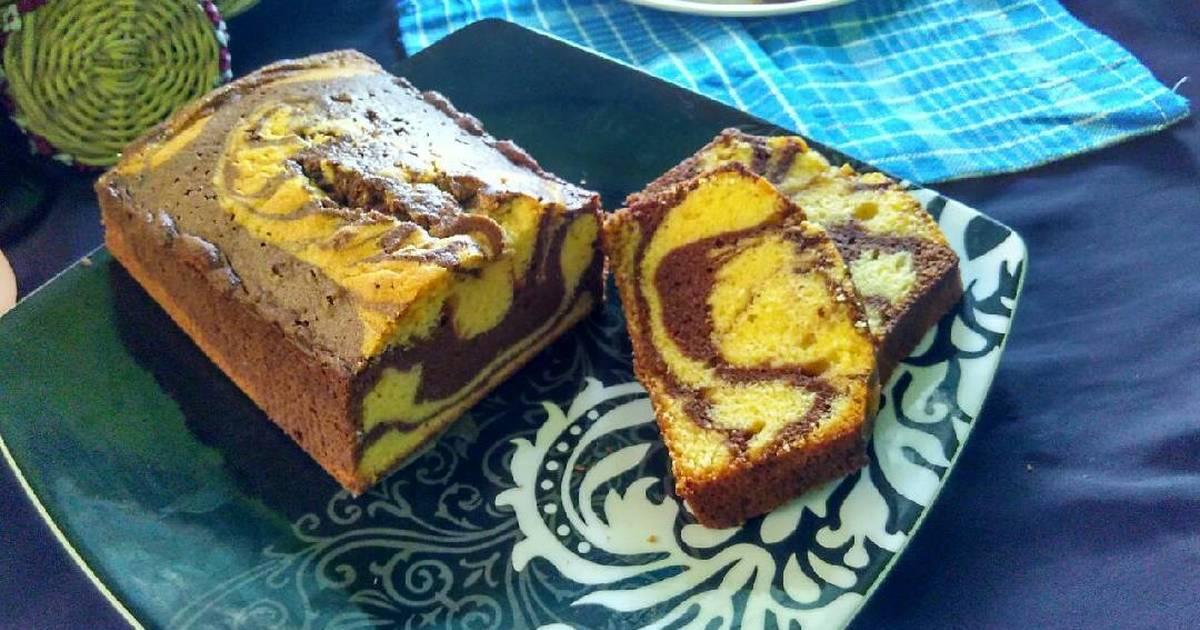 Resep Marble Pound Cake