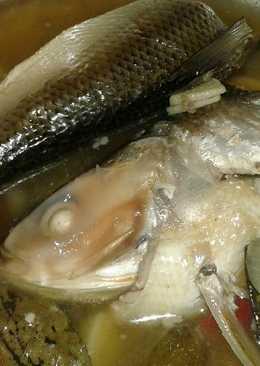 Ikan bandeng masak pindang