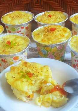 Cheesy Macaroni Schotel #Bandung_recook Dewi Lina Faidah