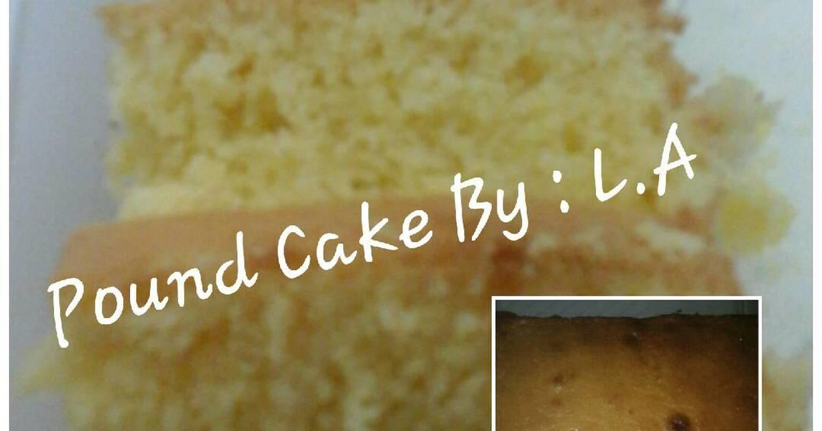 Resep Pound Cake Pemula