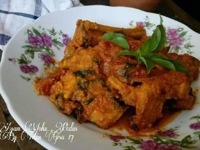 Ayam Woku Pedas