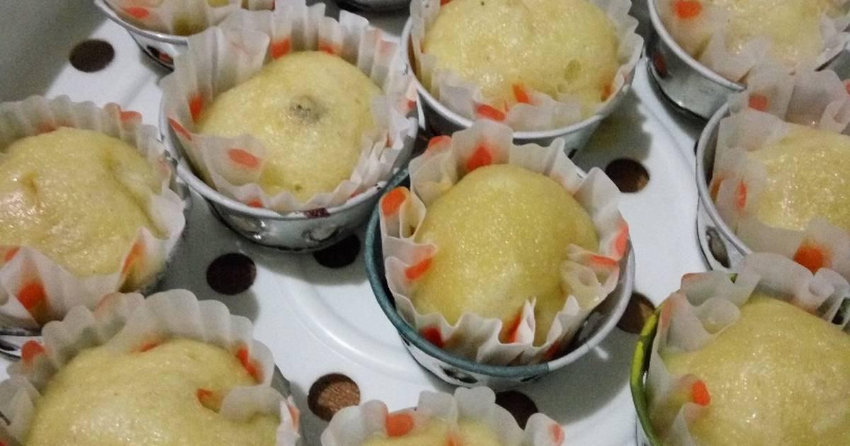 Resep Cake Pisang Kukus Ncc: Resep Cup Cake Pisang Keju Kukus Oleh Aldina Safitri