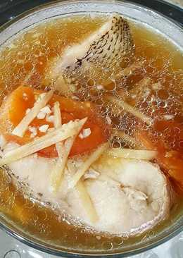 Steamed Ikan Kakap Simpel No Ribet (NO MSG)