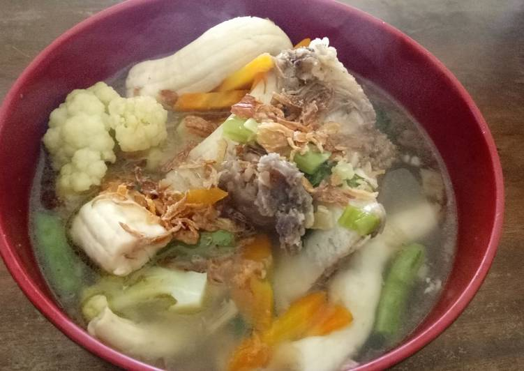 Resep Sop Sumsum Sapi Oleh Cassalover - Aneka Resep Masakan