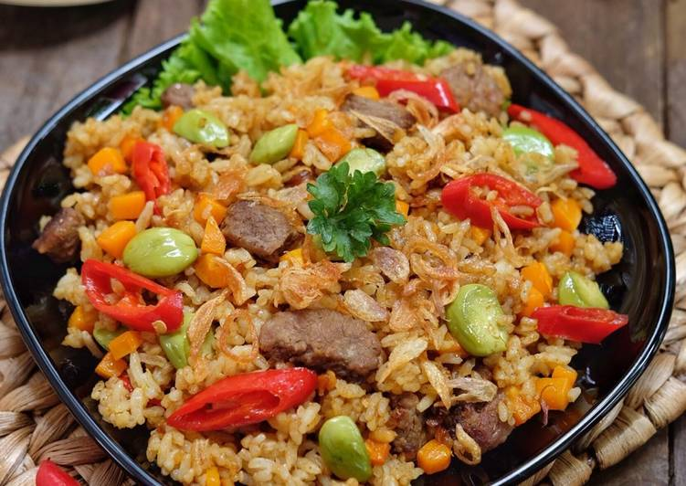 Image result for Nasi Goreng Rendang