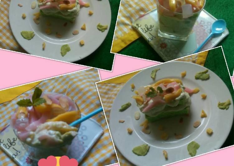 Resep Es Teler Cake Kiriman dari Utari Handiyani