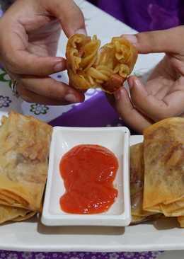 18. lumpia isi macaroni #BikinRamadanBerkesan